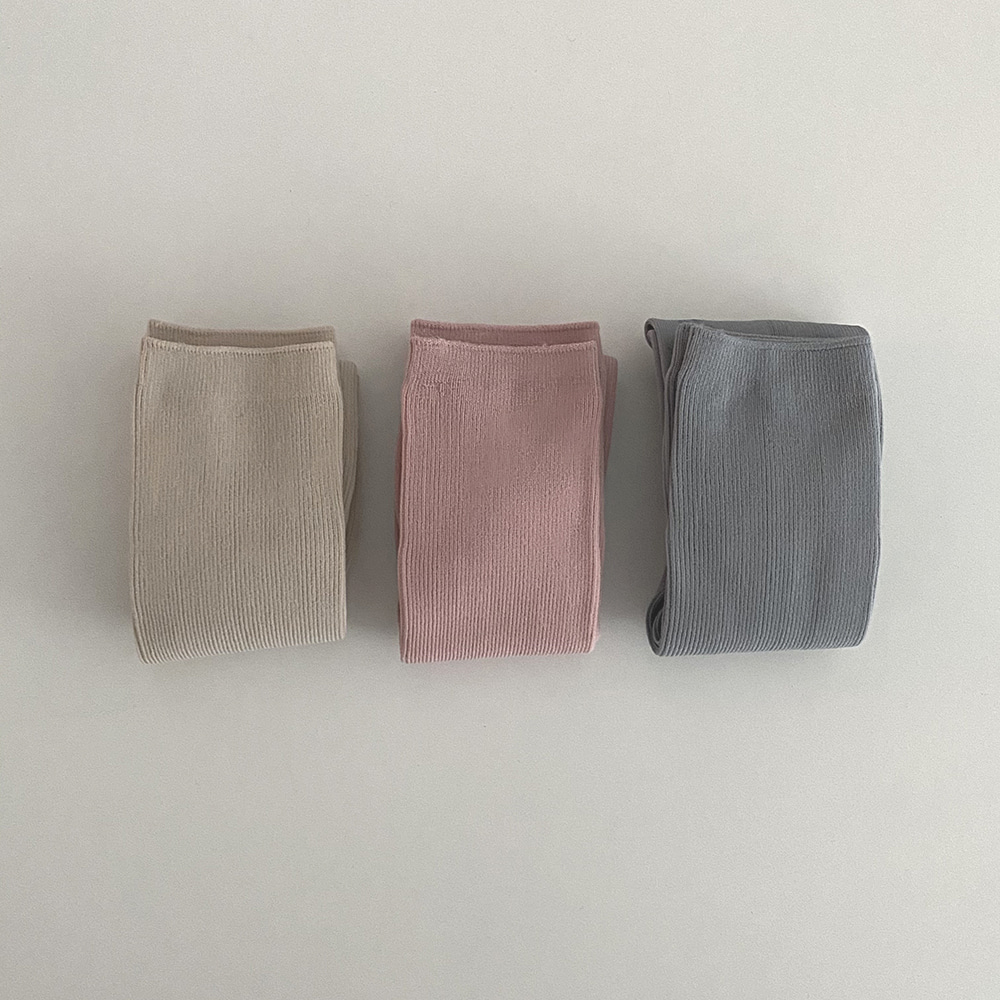 SOFT SOCKS [5COLORS]