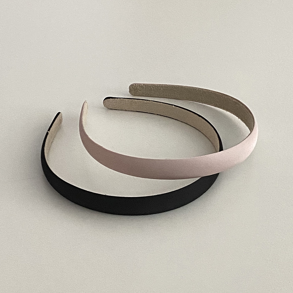 SATIN HAIRBAND [2TYPE]